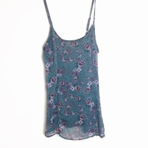 Brandy Melville Vintage Floral Shift Dress S